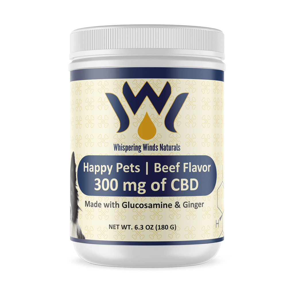Happy Pets Beef Flavor CBD Powder
